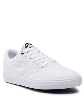 Nike Nike Cipő Sb Check Solar Cnvs 843896 110 Fehér