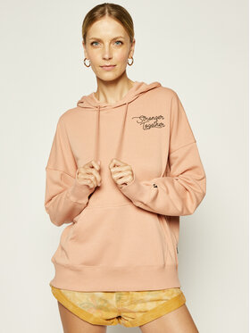 Converse Converse Džemperis Stronger Together Hoodie 10019661-A02 Oranžinė Regular Fit
