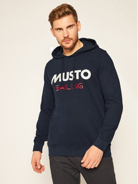 Musto Musto Sweatshirt 82019 Dunkelblau Regular Fit