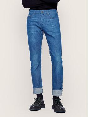 Boss Boss Prigludę (Slim Fit) džinsai Delaware3-1 50437899 Tamsiai mėlyna Slim Fit