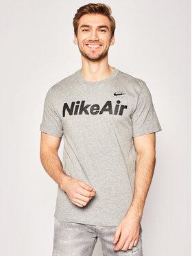 Nike Nike Тишърт Air CK2232 Сив Standard Fit