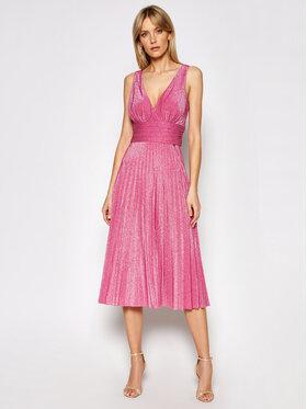 Liu Jo Liu Jo Коктейлна рокля IA1068 J6023 Розов Regular Fit