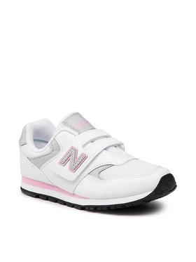 New Balance New Balance Sneakersy YV393CWP Biela