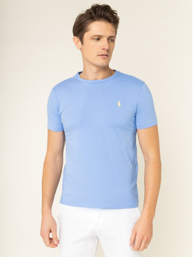 Polo Ralph Lauren Polo Ralph Lauren T-Shirt 710671438 Blau Custom Slim Fit