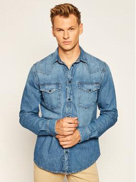 Pepe Jeans Pepe Jeans Cămașă Noah PM306529 Albastru Regular Fit