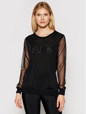 Liu Jo Sport Liu Jo Sport Sweater TA1068 MA57I Fekete Regular Fit