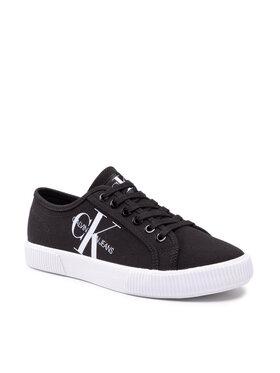 Calvin Klein Jeans Calvin Klein Jeans Теніски Vulcanized Sneaker Laceup Co YW0YW00402 Чорний