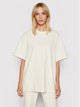 Samsøe Samsøe Samsøe Samsøe T-Shirt Undyed W F21200019 Beżowy Oversize