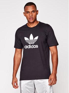 adidas adidas T-Shirt adicolor Classics Trefoil GN3462 Czarny Regular Fit