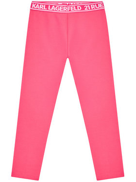 KARL LAGERFELD KARL LAGERFELD Leggings Z14148 M Rose Regular Fit