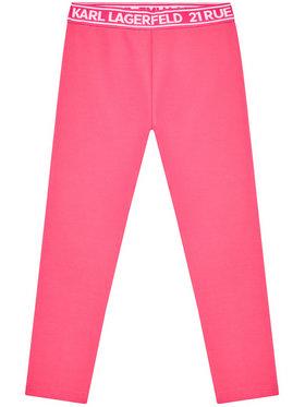 KARL LAGERFELD KARL LAGERFELD Legíny Z14148 M Růžová Regular Fit
