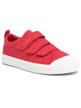Clarks Clarks Sneakers City Vibe K 261491197 Κόκκινο