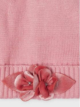 Mayoral Mayoral Комплект шапка, шал и ръкавици 10154 Розов