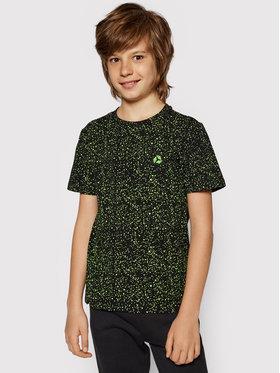 4F 4F T-shirt JTSM006 Noir Regular Fit