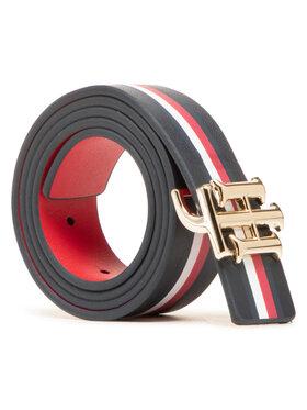 Tommy Hilfiger Tommy Hilfiger Cintura da donna Th Logo Rev 3.0 AW0AW09817 Blu scuro