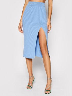 Kontatto Kontatto Puzdrová sukňa 3M7256 Modrá Slim Fit