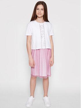 Guess Guess Každodenné šaty J1RK22 K6YW0 Biela Regular Fit