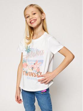 TwinSet TwinSet T-Shirt 201GJ2319 M Λευκό Regular Fit