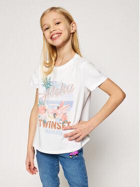 TwinSet TwinSet T-Shirt 201GJ2319 M Weiß Regular Fit