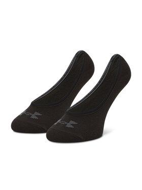 Under Armour Under Armour Súprava 3 párov krátkych ponožiek unisex Essential Lolo Liner 1361148-001 Čierna