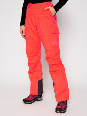 Helly Hansen Helly Hansen Παντελόνι σκι Switch Cargo Insulated 65754 Πορτοκαλί Relaxed Fit