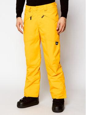 O'Neill O'Neill Spodnie narciarskie Hammer 0P3019 Żółty Regular Fit