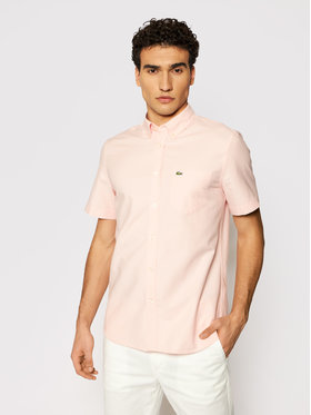 Lacoste Lacoste Košulja CH4975 Ružičasta Regular Fit