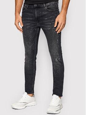 KARL LAGERFELD KARL LAGERFELD Jeans 5-Pocket 265801 512832 Schwarz Slim Fit