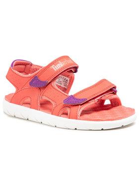 Timberland Timberland Sneakersy Perkins Row 2-Strap TB0A2D4W801 Ružová