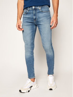 Calvin Klein Jeans Calvin Klein Jeans Jeansy Super Skinny Fit J30J315478 Niebieski Super Skinny Fit