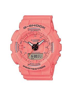 G-Shock G-Shock Zegarek GMA-S130VC-4AER Pomarańczowy