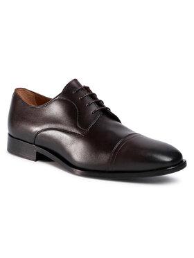 Boss Boss Chaussures basses Lisbon 50425037 10221468 01 Marron