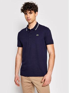 Lacoste Lacoste Тениска с яка и копчета YH1482 Тъмносин Regular Fit