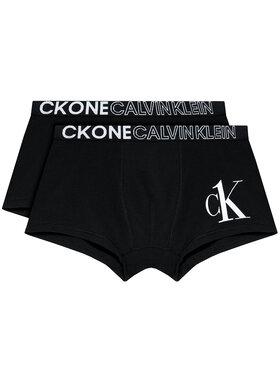Calvin Klein Calvin Klein Set 2 perechi de boxeri B70B700317 Negru