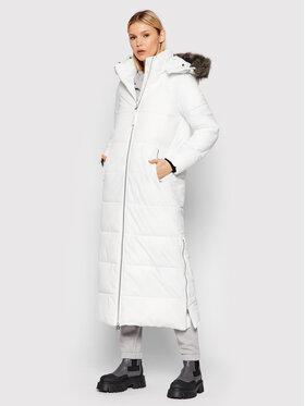 Calvin Klein Calvin Klein Пухено яке Modern K20K203138 Бял Regular Fit