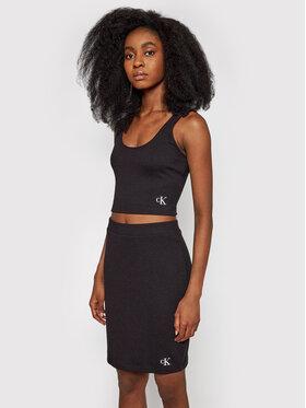 Calvin Klein Jeans Calvin Klein Jeans Top J20J215703 Negru Slim Fit