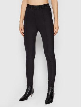 Silvian Heach Silvian Heach Spodnie materiałowe Neglinge PGA21159PA Czarny Slim Fit