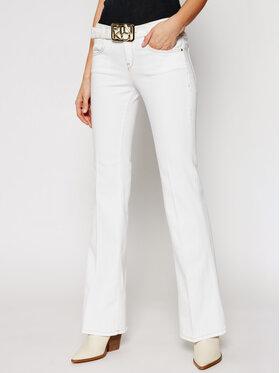 Pinko Pinko Jeansy Feliz PE 21 PDEN 1J10KZ Y62N Biały Comfort Fit