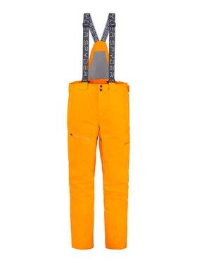 Spyder Spyder Spodnie narciarskie Dare 191026 Pomarańczowy Regular Fit