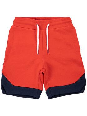 Little Marc Jacobs Little Marc Jacobs Bavlnené šortky W24213 Červená Regular Fit