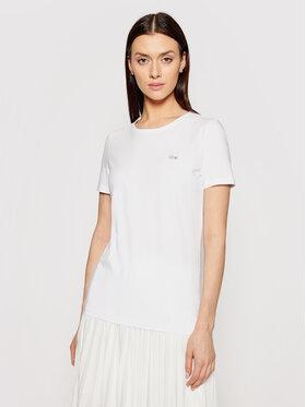 Lacoste Lacoste Marškinėliai TF0998 Balta Regular Fit