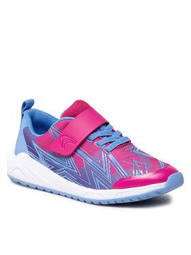 Clarks Clarks Sneakersy Aeon Pace K 261615736 Różowy