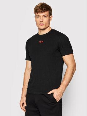 Hugo Hugo T-Shirt Durned214 50456165 Schwarz Regular Fit