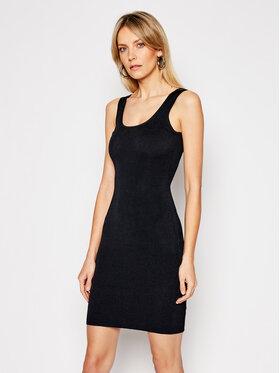 Guess Guess Sukienka codzienna W1GK85 Z2U00 Czarny Slim Fit