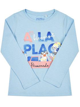 Primigi Primigi Bluzka St Tropez Memories 45212504 Niebieski Regular Fit