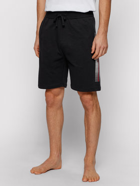 Boss Boss Pantaloni scurți sport Authentic 50449962 Negru Regular Fit