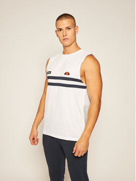 Ellesse Ellesse Tank top Andare Vest SHE08506 Biały Regular Fit