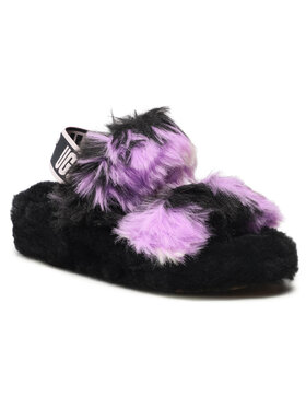 Ugg Ugg Pantofole W Oh Yeah Tie Dye 1119821 Nero