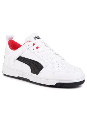Puma Puma Sneakersy Rebound Layup Lo Sl Jr 370490 01 Bílá