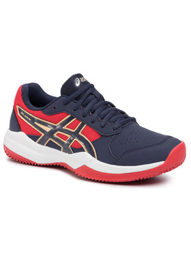 Asics Asics Chaussures Gel-Game 7 Clay/Oc Gs 1044A010 Bleu marine
